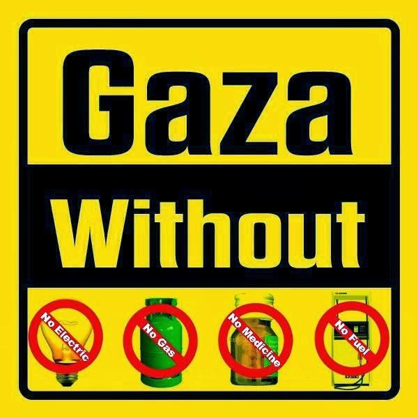 GAZA SIN ELECTRICIDAD