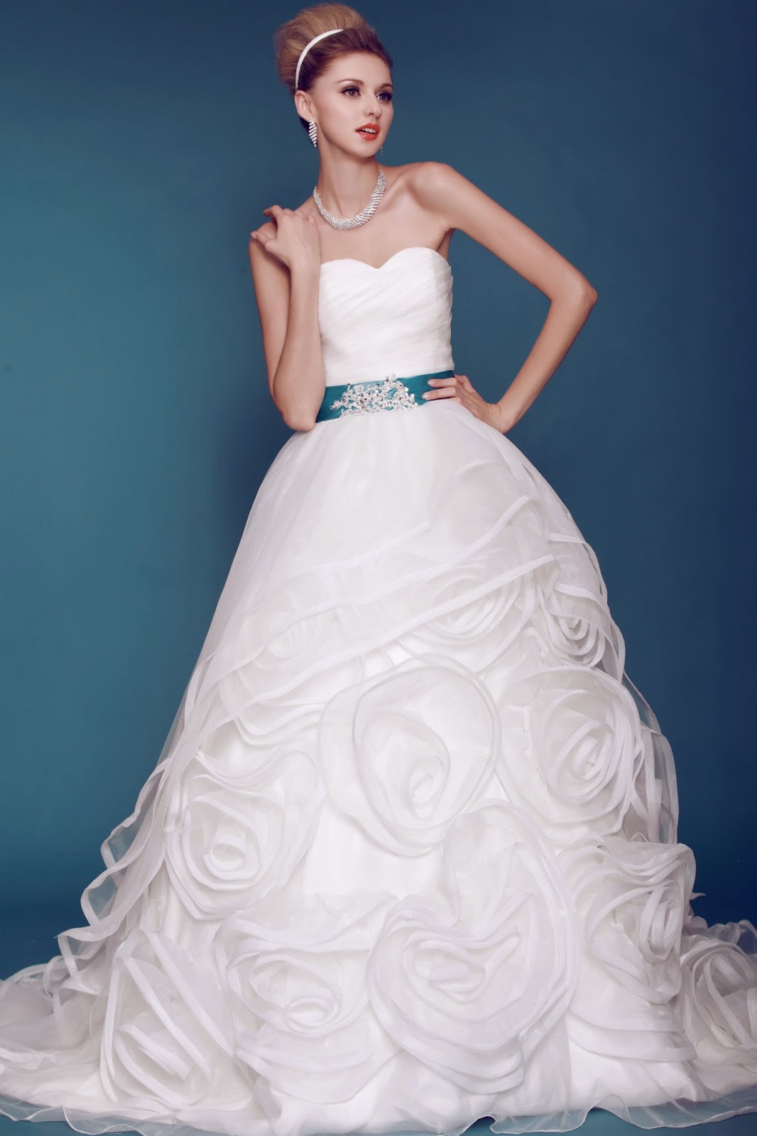 Color Wedding Dresses DressV