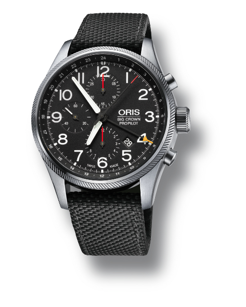ORIS BIG CROWN PROPILOT CHRONOGRAPH GMT