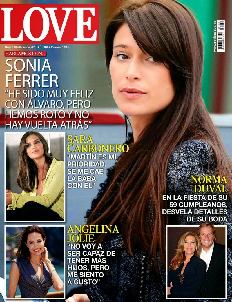 TV Host, Model, Actress @ Sonia Ferrer - Love Spain, April 2015