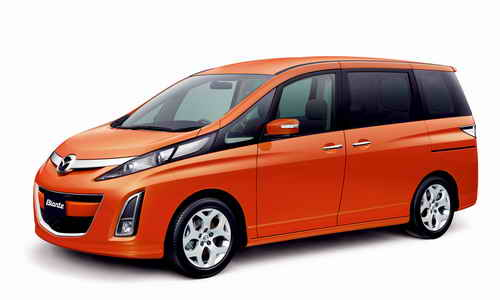 Mazda Motor Group launched a renewed version of Mazda Biante Minivan