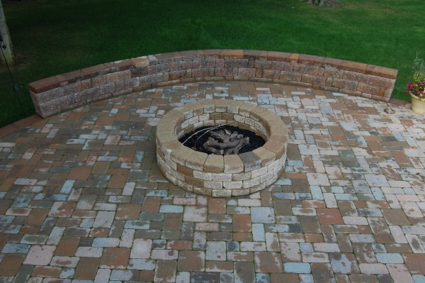 Brick outdoor fire pit designs brick phone picture for Backyard brick fire pit