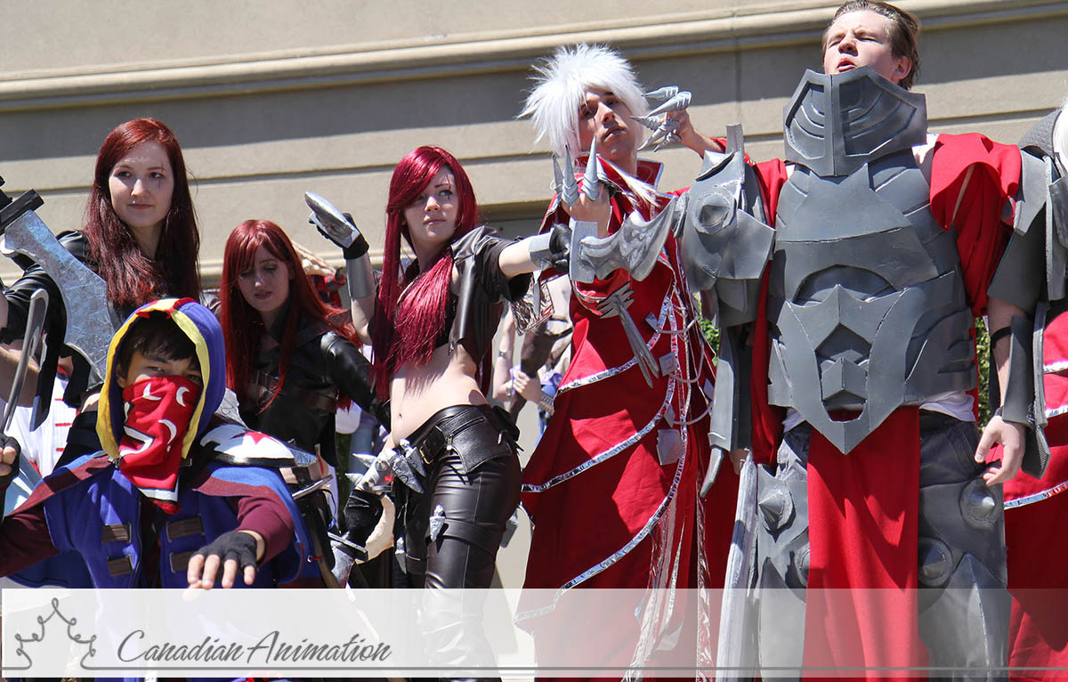 League Of Legends Cosplay Darius Anime north 2013 - league ofLeague Of Legends Cosplay Darius
