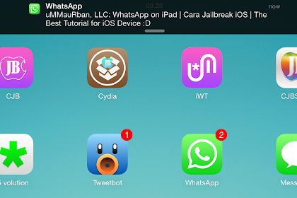 Cara Install WhatsApp di iPad iPod Touch iOS 7