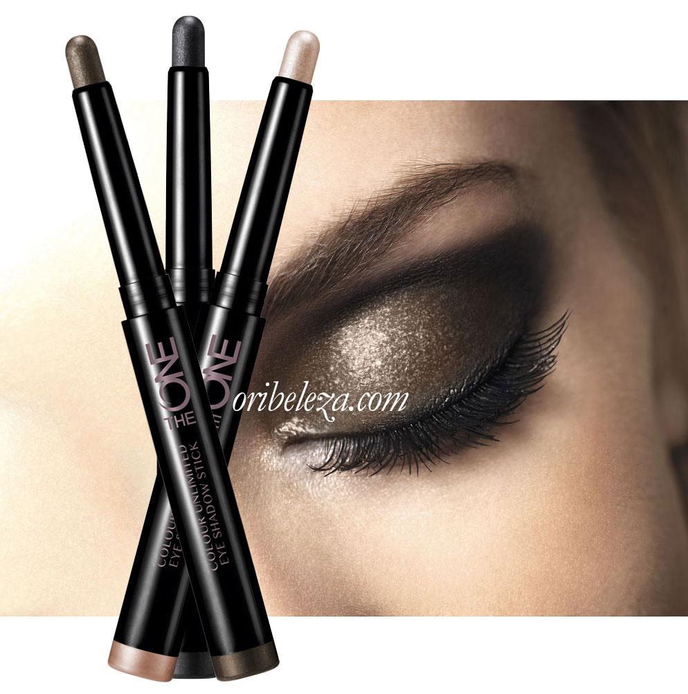 Stick Sombra de Olhos Colour Unlimited The ONE da Oriflame - Com bico retrátil