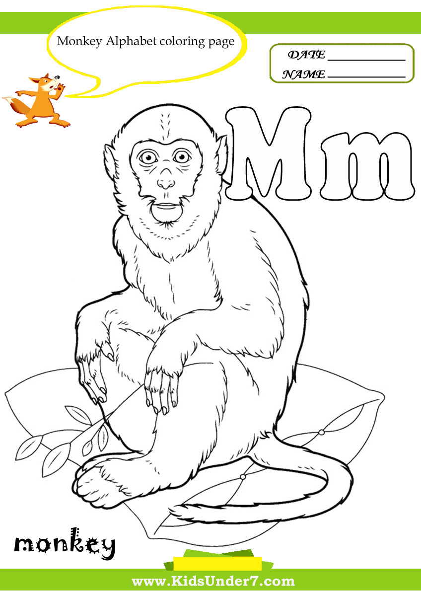 Coloring book pages letter m - Coloring Book Pages Letter M 47