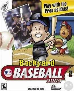 Backyard Baseball 2003 - PC Game Download Free Full Version
