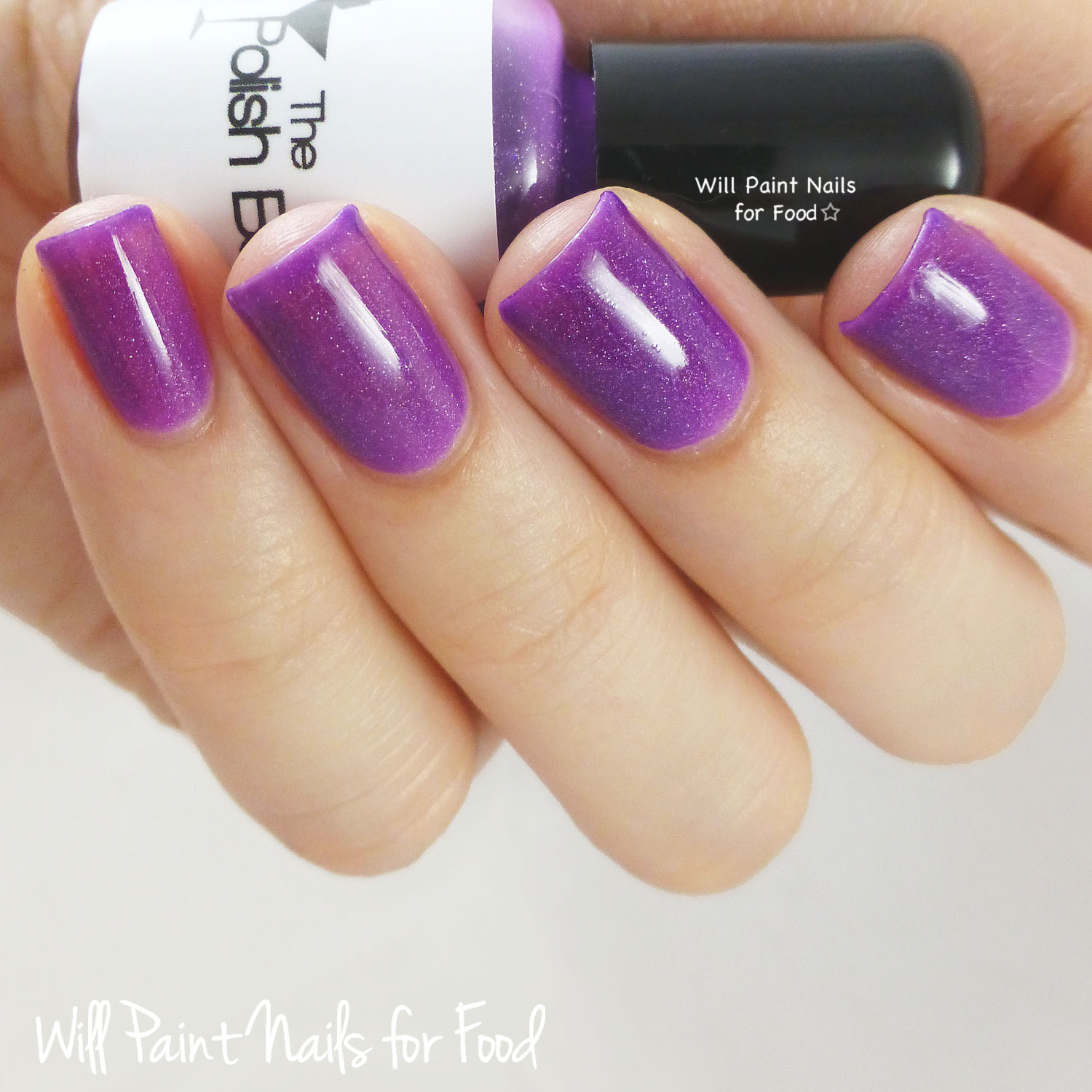 The Polish Bar Electric Violet swatch