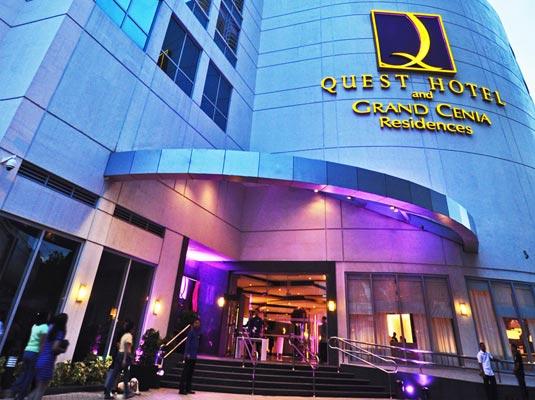 Quest Hotel Cebu's Facade