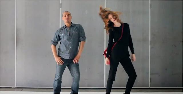Coco Rocha dancing