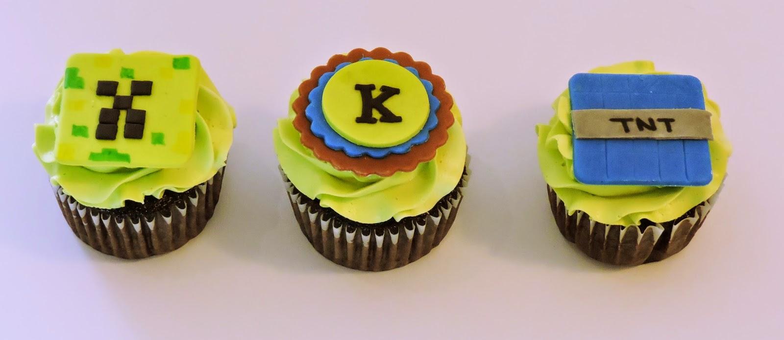 minecraft cupcakes easy