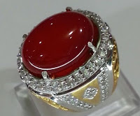 Batu Akik Bacan Merah