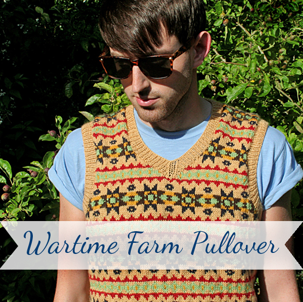 Wartime Farm Knitting Pattern