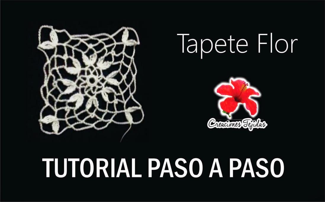 #T2 Tapete Flor - Tutorial Paso a Paso