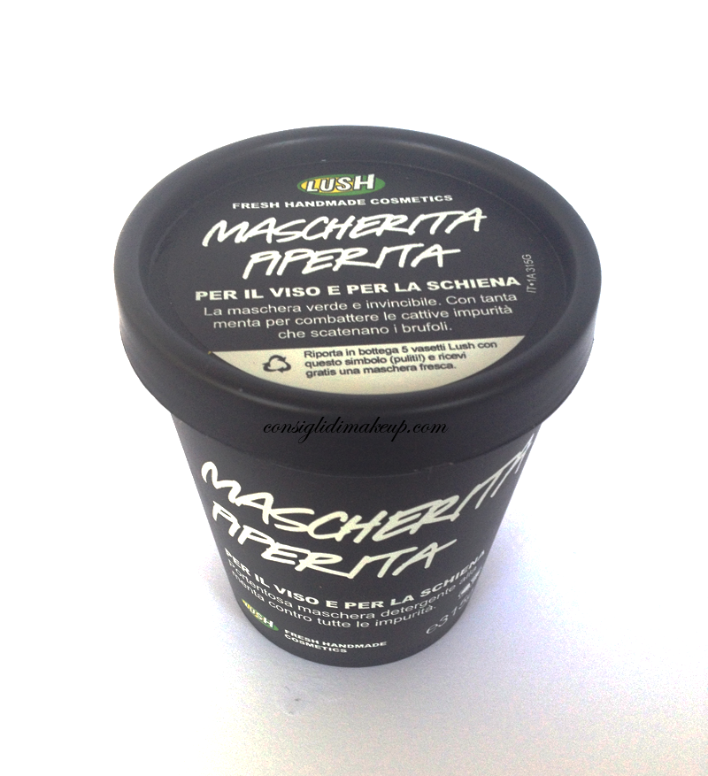 Review Mascherita Piperita - Lush Cosmetics