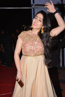 Charmee Kaur Latest Pictures in Long Dress at Temper Movie Audio Launch ~ Celebs Next