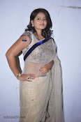 Actress Tanusha Photos in Saree at Present Love Audio-thumbnail-4