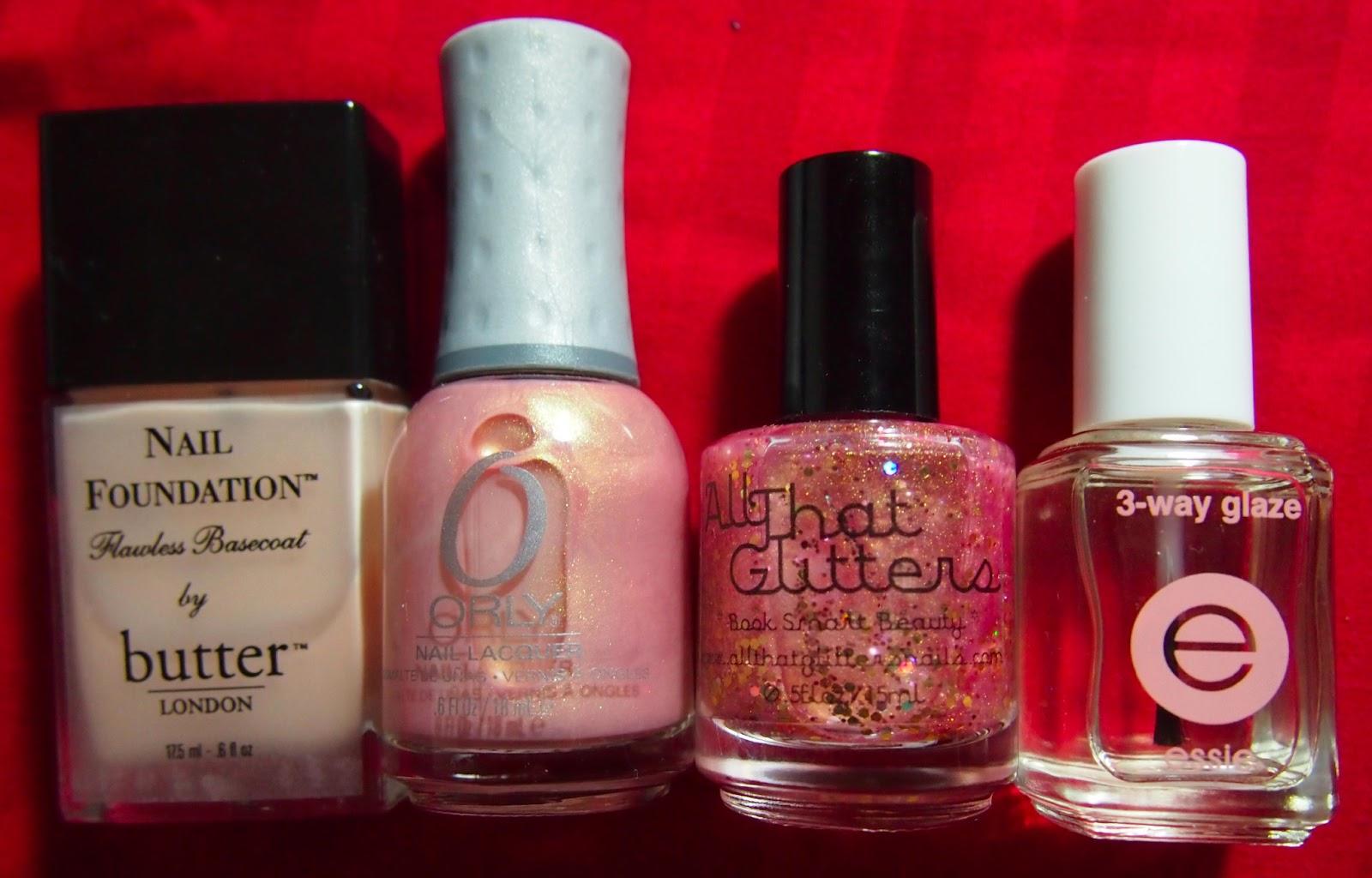 Shrinking Wallet: NOTD: All That Glitters - Book Smart Beauty