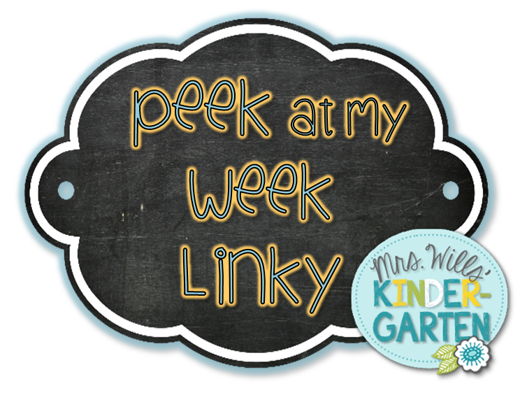 peek at my week linky