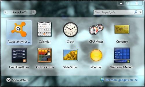 Desktop Gadget