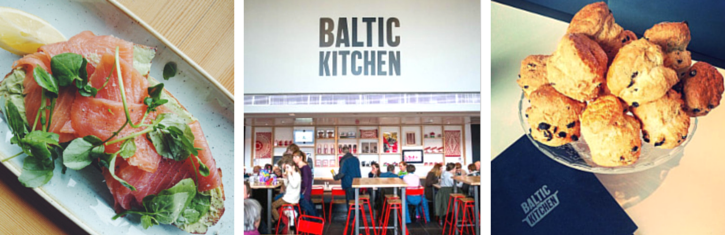 Breakfast at Baltic Kitchen Newcastle