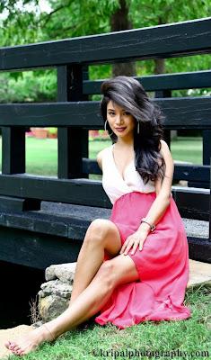 Beautiful Nepali Model Sarah Gurung