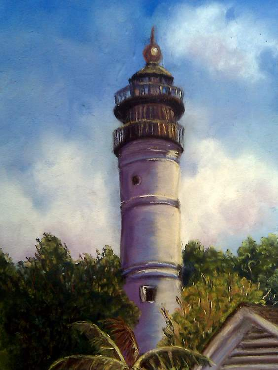 Well, here's one more painting for my lighthouse series, as well as my ...