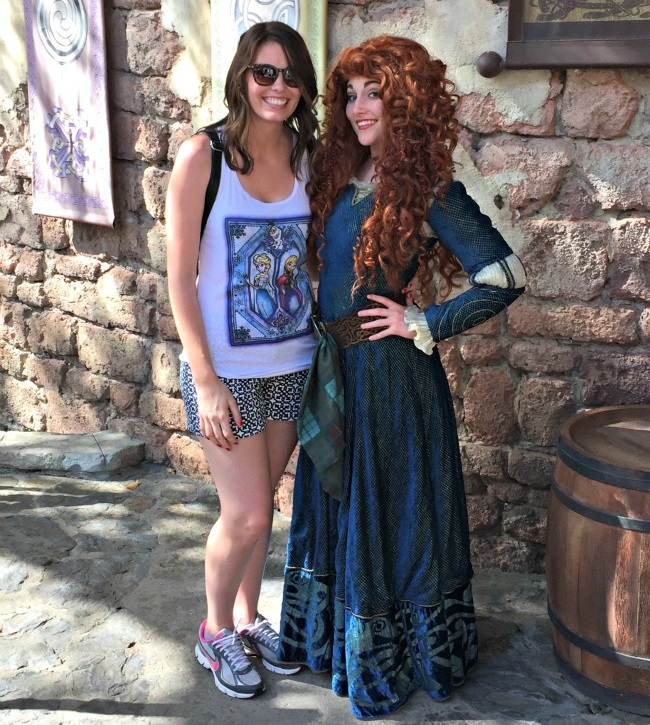 Disney World Recap - Magic Kingdom - finally got to meet Merida!