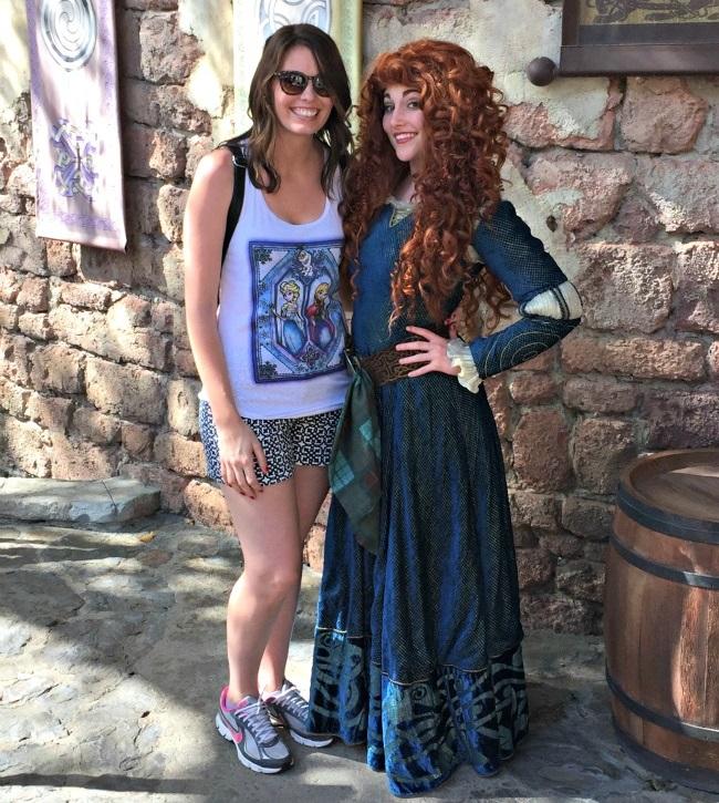 Disney World Recap - Magic Kingdom - finally got to meet Merida!