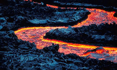Encontraram um rio de lava vulcânica embaixo do EUA!