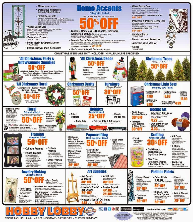 Discount coupon for hobby lobby