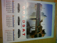 Kalender Goldsat 2014