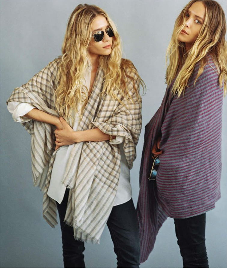 Ashley & Mary Kate Olsen in Vogue Germany November 2014 photographed by Bruce Weber, styled by Christian Arp