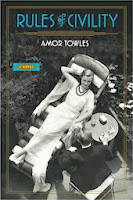 Rules of Civility, Amor towles cover