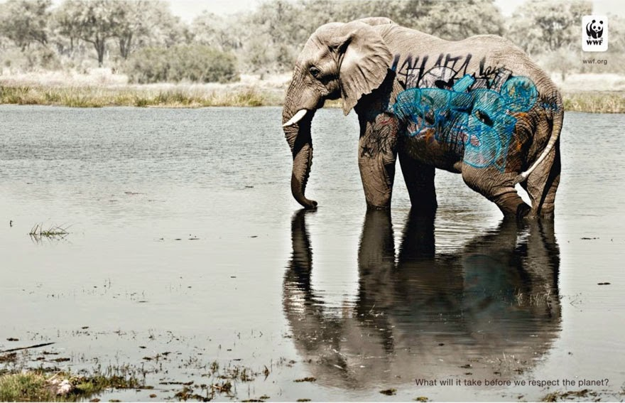 WWF: What Will It Take Before We Respect The Planet? - 33 Powerful Animal Ad Campaigns That Tell The Uncomfortable Truth