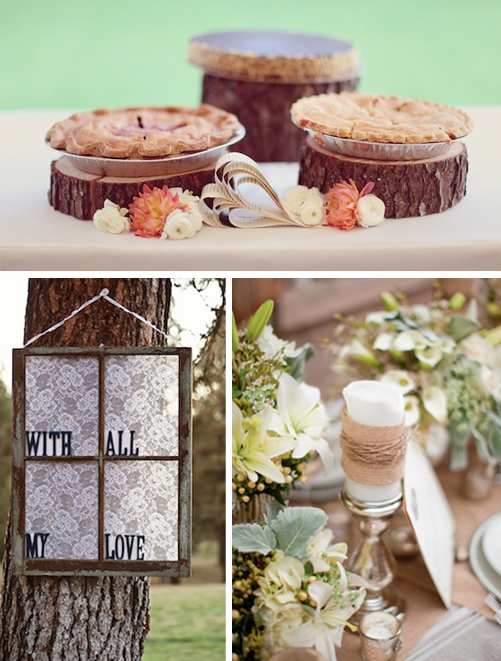 Wedding 45 Rustic Shabby Chic