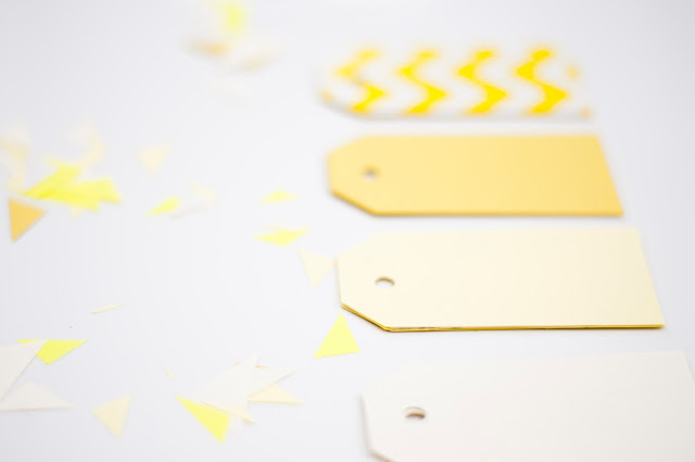 Made By Pien Yellow Kraft Paper Tags