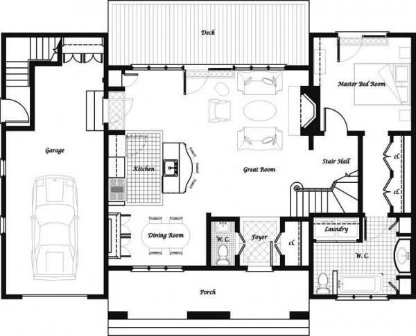 Plano y fachada de casa habitaci n de dos niveles y 3 - Planos casas planta baja ...