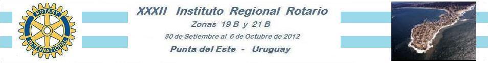 INSTITUTO ROTARIO 2012