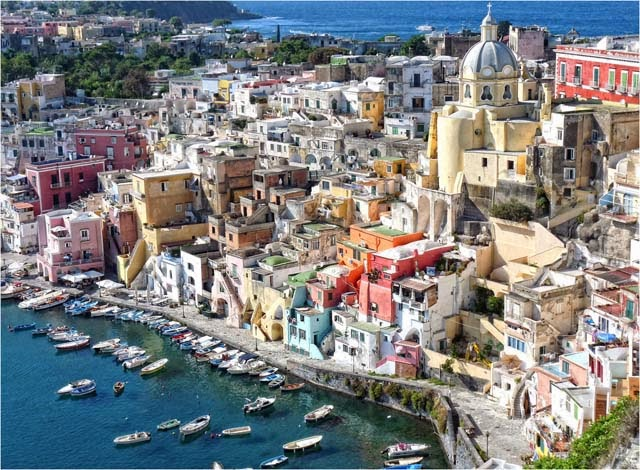 Procida-Naples-Napoli-Italia