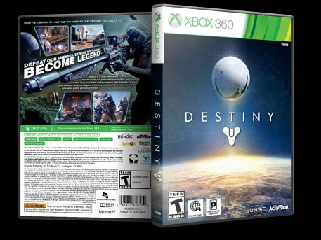 Capa Destiny Xbox 360