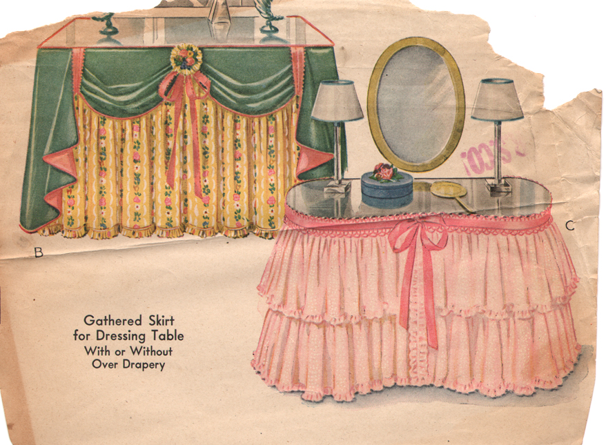 Dressing table ideas on pinterest dressing tables for How to dress a table
