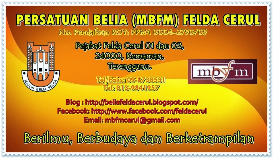 Persatuan Belia (MBFM) Felda Cerul, Kemaman