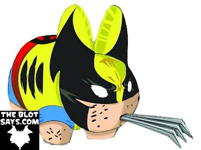 Marvel x Kidrobot Wolverine 7 Inch Labbit Vinyl Figure
