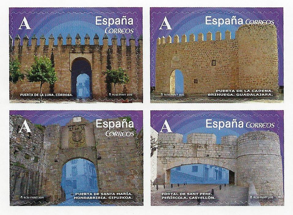 Sellos de Arcos y Puertas 2015
