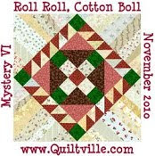 Roll%2BRoll%2BCotton%2BBoll Quiltmakers Block Network: String Piecing and Giveaway!