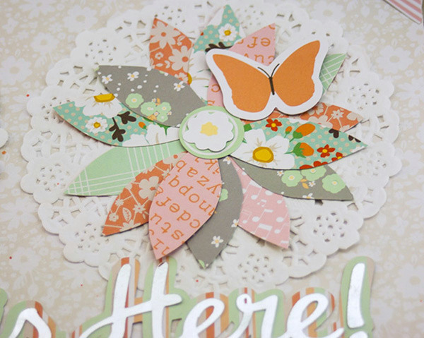 Allie Stewart Chickaniddy Crafts Flowers Layout close-up2