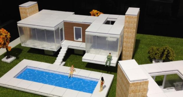 Modern mini houses Building model homes