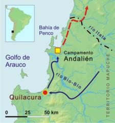 Acura Modesto on Mi Historia De Chile  Inicio De La Guerra De Arauco