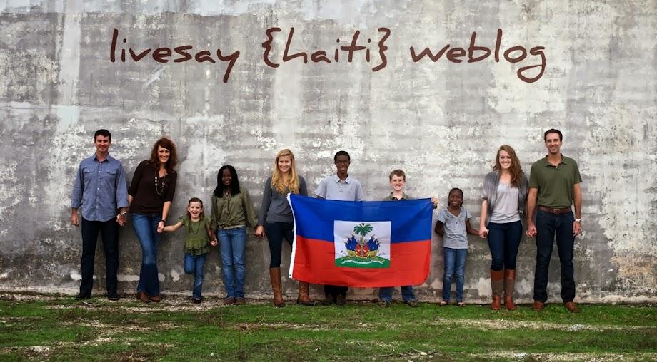 Livesay [Haiti] Weblog